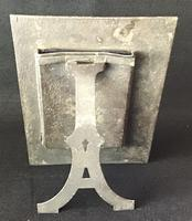 Arts and Crafts  Spelter Easel Photo Frame (2 of 3)