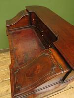 Antique 19th Century Carlton House Desk Mahogany Writing Table of Immense Character (25 of 30)