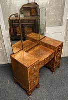 Stylish Art Deco Burr Walnut Dressing Table (17 of 20)