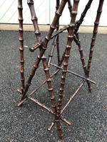 Unusual Walnut & Bamboo Table (4 of 6)