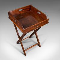 Antique Butler's Stand, English, Mahogany, Serving Tray, Rest, Victorian c.1900 (7 of 12)