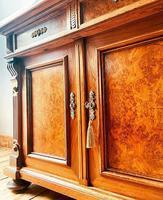 Antique Sideboard / Burr Walnut Sideboard / Walnut Cupboard (4 of 10)