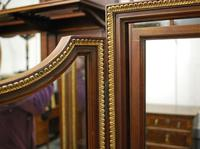 Large French triptych dressing table mirror (7 of 7)