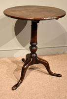 18th Century Oak Tripod Table (2 of 5)