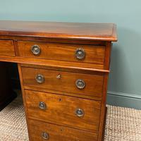 Fine Quality Victorian Mahogany Antique Pedestal Desk (2 of 7)