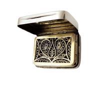 Antique Georgian Sterling Silver Vinaigrette 1811 (8 of 10)