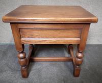 Light Oak Coffee / Side Table (7 of 8)