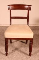 Set of 8 Mahogany Chairs Early 19th Century (5 of 10)