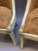 Pair of Empire French Painted Chairs (10 of 10)