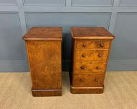 Pair of Burr Walnut Bedside Chest by Heal and Son (5 of 16)