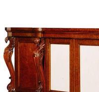 Large George IV, Plum Pudding Mahogany Side Cabinet (2 of 4)