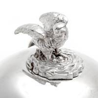 Victorian Silver Plated Egg Boiler with Chicken Shaped Finial (5 of 5)