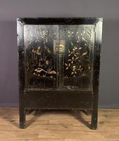 Lacquered hand painted provincial Chinese wedding cabinet (5 of 7)