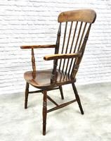 Antique Stick Back Armchair (5 of 6)