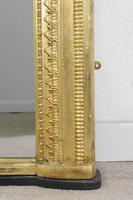 19th Century English Gilt Overmantle Mirror (9 of 11)