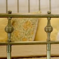 All Brass Antique Bed (4 of 6)