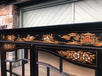 Antique Chinoiserie Lacquered Display Cabinet (9 of 9)