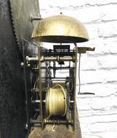 Painted Pine Cornish Longcase Clock (11 of 11)