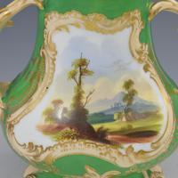 Samuel Alcock Porcelain Pot Pourri Vase & Cover Landscape View (5 of 10)