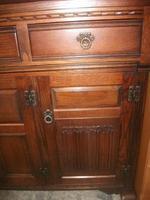 Large Carved Oak Old Charm Sideboard (3 of 3)