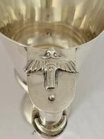 Sterling Silver 'Nestor' Goblet - Chester 1913 (5 of 10)