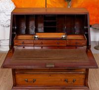 Bureau Mahogany Writing Desk Chest 19th Century Victorian (9 of 14)