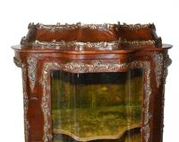 Antique Display Cabinet French Louis XVI Inlaid Bijouterie (3 of 10)