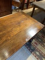 Oak refectory table baluster legs (6 of 7)