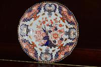 Fabulous Royal Crown Derby Bone China Scalloped Plate c.1890 (5 of 8)