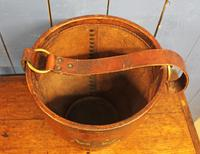 Antique Leather Fire Bucket (4 of 11)