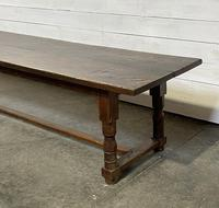 Wonderful Antique Large Refectory Farmhouse Dining Table (5 of 31)