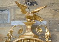 Outstanding Regency Giltwood Mirror With Eagle Crest (8 of 10)