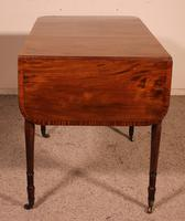 Early 19th Century Writing Desk in Mahogany with Flaps (7 of 13)