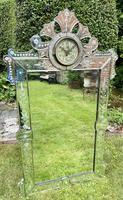 Venetian Mirror with Clock (5 of 6)