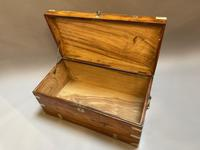 Century 19th Camphor Campaign Chest Trunk (3 of 8)