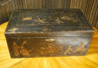 Regency Chinoiserie Japanned Box (3 of 7)