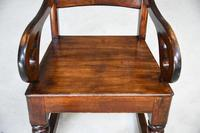 Antique Victorian Mahogany Rocking Chair (2 of 12)