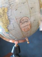 "1920's 8"" Papier Mache Terrestrial Globe (2 of 7)"