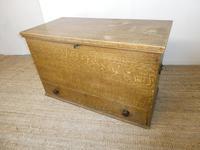19th Century Scumbled Blanket Box (12 of 12)