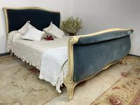 Original French Roll End Style Double Bed Frame (3 of 12)