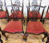 Set of Eight Oversized Dining Chairs (12 of 18)
