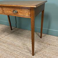 Georgian Country Oak Antique Side Table (5 of 8)