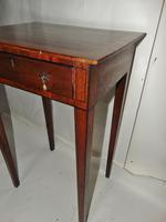 Small Georgian Mahogany Side Table (6 of 7)