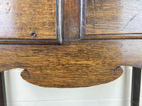 Antique Oak Two Drawer Side Table (4 of 14)