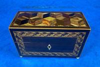 Victorian Rosewood & Tunbridge Ware Inlaid Scent Box (2 of 6)