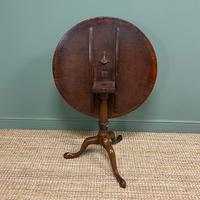 Georgian Mahogany Circular Antique Table (8 of 8)