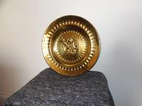 An arts and crafts brass charger (3 of 5)