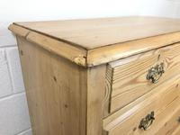 Antique Pine Chest of Drawers (7 of 10)