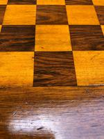 Antique Inlaid Walnut Tripod Games Table (6 of 7)