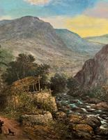 William R Stone Lovely Dolgilly North Wales Landscape Painting (3 of 13)